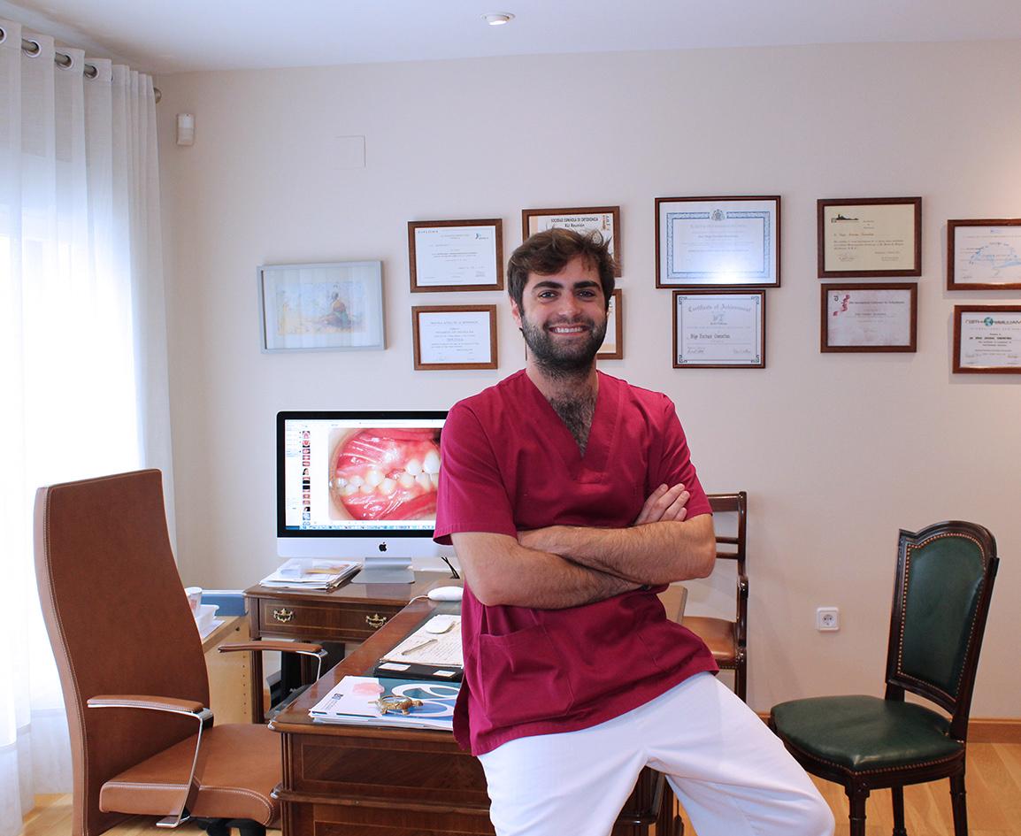 Dr. Iñigo Encinas García Trabajando