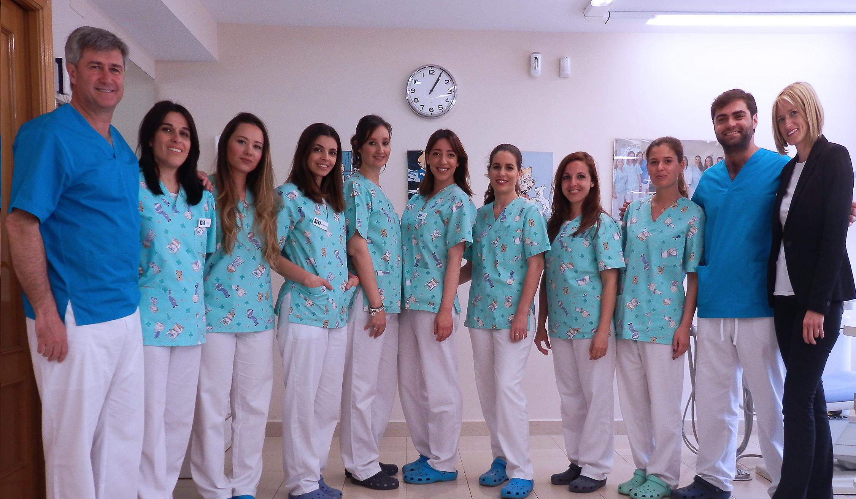Iñigo Encinas y su equipo Ortodoncia Encinas