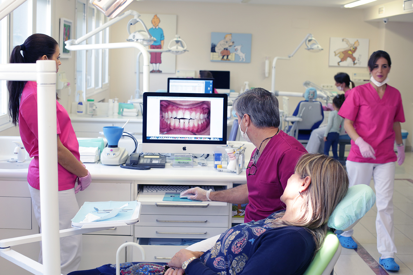 Tratamento ortodoncia a paciente